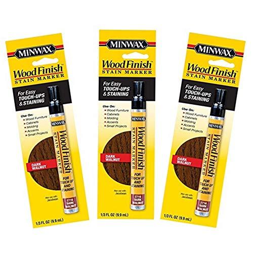- Minwax 63487 Wood Finish Dark Walnut Stain Marker Interior Wood (3)