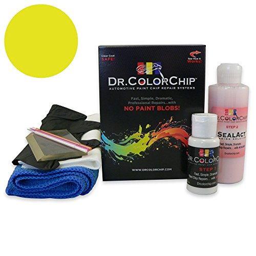 Price comparison product image Dr. ColorChip Volvo All Models Automobile Paint - Light Yellow 526 - Squirt-n-Squeegee Kit