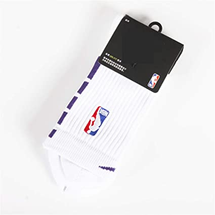 GHQ-WAZI Calcetines de Baloncesto de la NBA 19 Nuevo NBA Thick ...