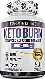 Keto Pills - 3X Dose (2100mg | 90 Capsules) Advanced Keto Burn Diet Pills - Best Exogenous Ketones BHB Supplement - Max...