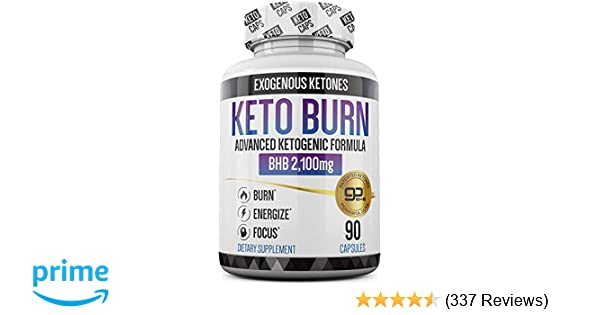 Keto Pills - 3X Dose (2100mg | 90 Capsules) Advanced Keto Burn Diet Pills -  Best Exogenous Ketones BHB