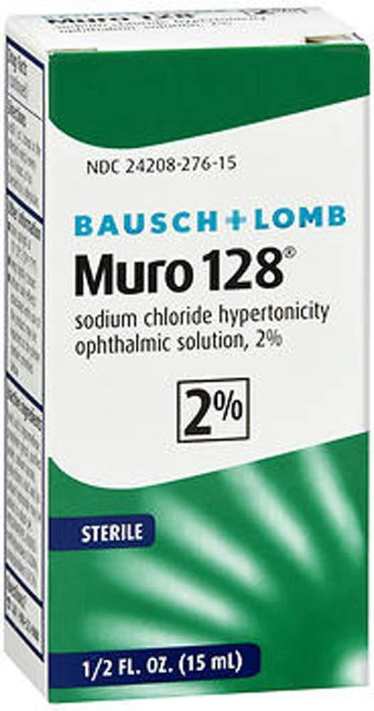 MURO 128 2% OPTH SOL Size: 0.5 Fl Oz