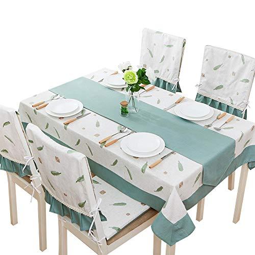 Baumwollleinentischdecke Haushalt Einfache Tischdecke Multi-Größe Handwäsche Tischdecke,120  120Cm B07K1HCLB7 Tischdecken Neuartiges Design       Glücklicher Startpunkt