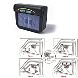 ETbotu Vehicle Car Solar Energy Powered Air Exhaust Fan Energy-saving Cooling Fans Universal Use