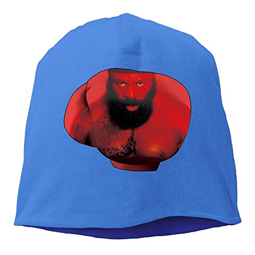 Boxer Kimbo Slice RoyalBlue Hedging Knitted Hat Beanies Caps (Redskin Boxers)