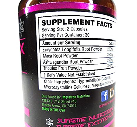 Amazon.com: METATRON NUTRITION: ANDROREX COMPLEX 1 TESTOSTERONE BOOSTER - More active ingredients, Ancient herbs, Weight-loss, Muscle Recovery, All Natural, ...
