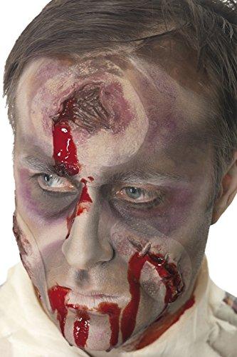 Halloween A Hole In The Head Fake Scar, Bullet Wound With 7oz Fake Blood (Fake Bullet Holes Halloween)
