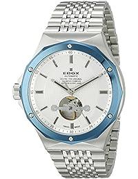 Men's 85024 3BUM AIN Delfin Analog Display Swiss Automatic Silver Watch