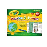 Alligator Products 2902/CYAR Crayola Artist Puzzles and Games Pad