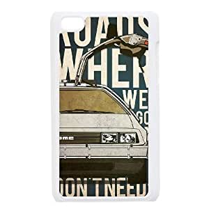 Back To The Future iPod Touch 4 Case White Decoration pjz003-3815168