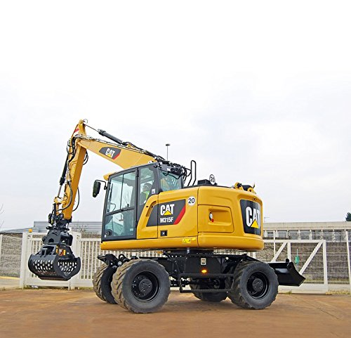 Home Comforts Canvas Print M315f Short Tail Rear Excavators Short Hydraulic Stretched Canvas 10 x 14 (Rear Excavator)