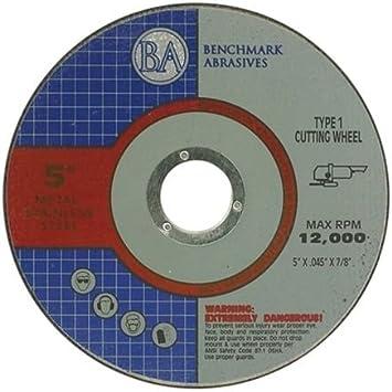 """50 Pack 5/""""x.045/""""x7//8/"""" Premium Thin Cutoff Wheel Stainless"""
