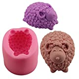 OHYESS Cute DIY Sheep Cake Decor Mold Chocolate Cookies Pastry Fondant Baking Mold