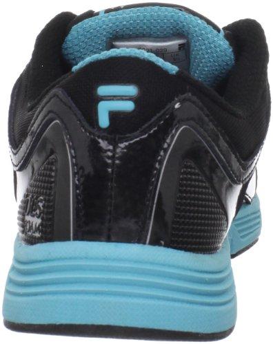 Women's Blue Black Scuba Metallic Black Stencil Metallic Shoe Silver Fila Lite Running FqAZwOOx