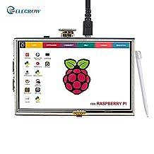 Elecrow 5 Inch TFT Touch Screen LCD Monitor for Raspberry Pi B+/2B Raspberry Pi 3