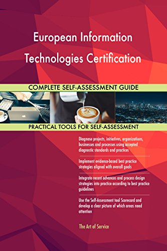 European Information Technologies Certification Toolkit: best-practice templates, step-by-step work plans and maturity diagnostics