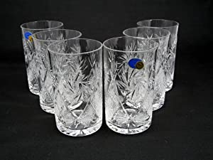 russian cut crystal drinking glasses 8 oz for metal glass holder hot tea coffee