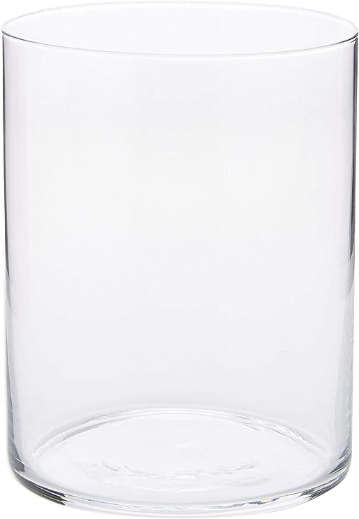 Dkristal Capri Vaso para Combinados, 0.5 L, Cristal, 8x8x9.5 cm, 6 Unidades: Amazon.es: Hogar