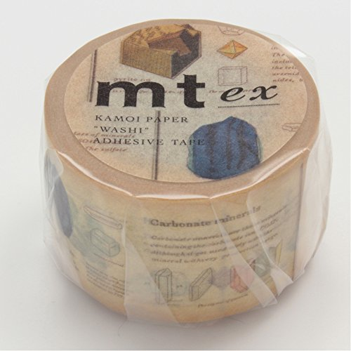 MT Washi Masking Tape Ex Picture Book and Mineral (MTEX1P71)