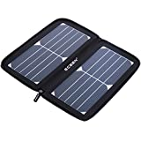 ECEEN Solar Panel, 10Watts Solar Charger with Unique Zipper Pack Design for iPhone