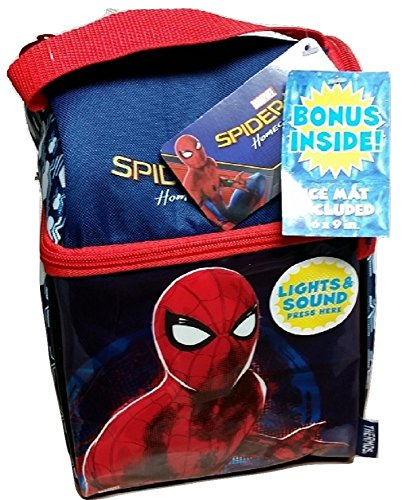 Thermos Spiderman Homecoming Lunch Bag Kit with Light Up (Spiderman Kit)