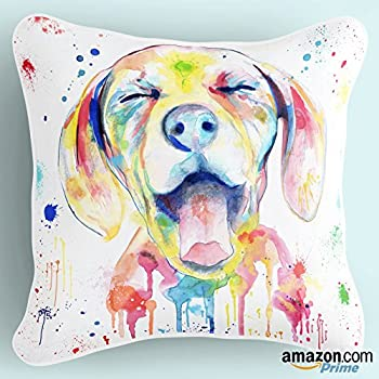 Amazon redland art cute pet shih tzu dogs pattern cotton lume colorful ditzy puppy dog lover print theme decorative throw pillow cover case for couch unique luxury designer bright art white multicolor solutioingenieria Gallery