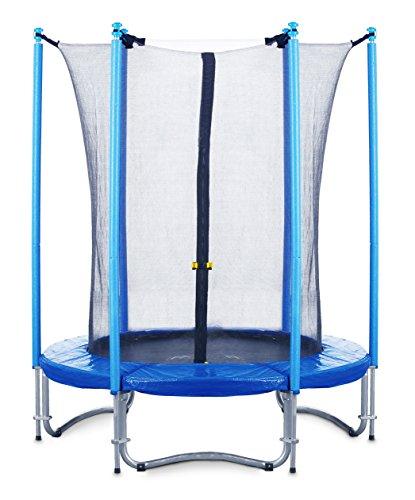 FA-Sports-Trampoline-Fly-Jump-Mini-Monster-mit-Sicherheitsnetz-183-cm-BlauSchwarz-2539