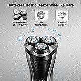 HATTEKER Electric Shaver Rotary Razor Men