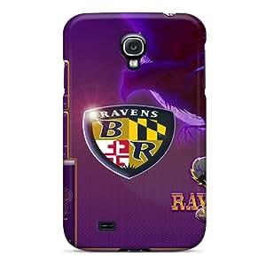 DAMillers Galaxy S4 Hybrid Tpu Case Cover Silicon Bumper Baltimore Ravens