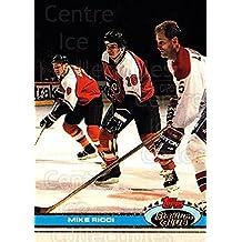 Mike Ricci Hockey Card 1991-92 Stadium Club #386 Mike Ricci