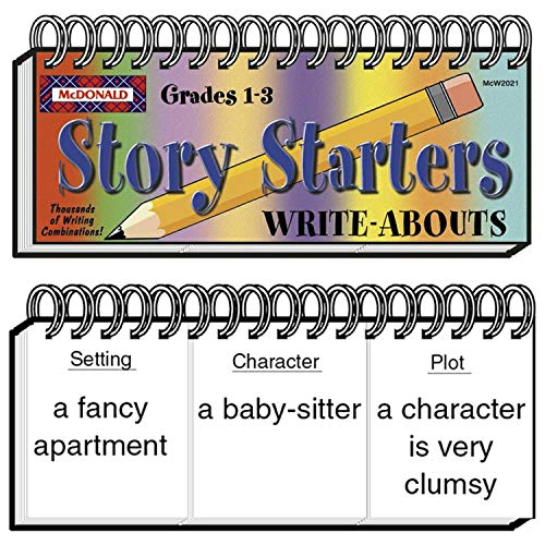 McDonald Publishing MC-W2021 Story Starters Write-Abouts Booklet, Grade: 1 to 3, 0.6