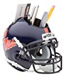 NCAA Ole Miss Rebels Mini Helmet Desk Caddy