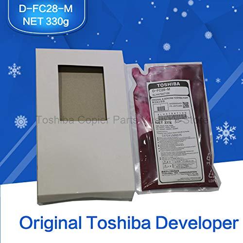 Printer Parts FC28 Developer Original Toshiba Copier Parts Magenta Color Developer D-FC28-M 6LH47947100 for 2330C 2830C 2820C 2530C 3530C