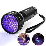 Black Light UV Flashlight, ESCO LITE UV Lights 2018 Upgraded 51 LED Ultraviolet