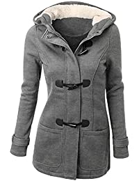 Amazon.com: Greys - Wool & Blends / Wool & Pea Coats: Clothing ...
