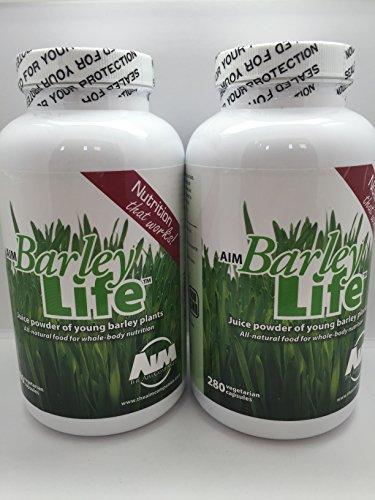 AIM Barleylife Capsules (Two Pack) 560 Capsules Total by AIM International