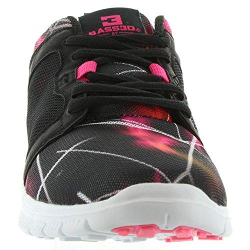 Zapatillas deporte de Mujer BASS3D 41193 C NEGRO