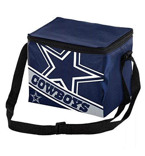 NFL Dallas Cowboys 2016 Lnsulated Lunch Bag Cooler (6 Pack)