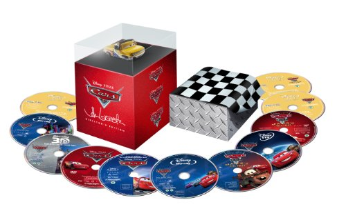 Cars Director's Edition  (Cars / Cars 2 / Mater's Tall Tales) (Blu-ray/DVD Combo + Digital Copy)
