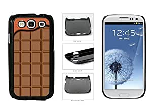 Brown Chocolate designed Pattern With Waffle Top Plastic Phone Case discipline Back Cover For Samsung necessary Galaxy S3 I9300 suggests