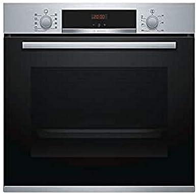 Bosch Serie 4 HBA512ER0 - Horno (Medio, Horno eléctrico, 71 L, 3400 W, 71 L, Acero inoxidable): 289.3: Amazon.es: Grandes electrodomésticos