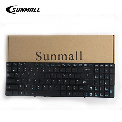 (SUNMALL Keyboard Replacement Compatible with A52 F50 X53E A53S K53 K53S K54 G73S X73E Series Laptop Black US Layout(6 Months Warranty))