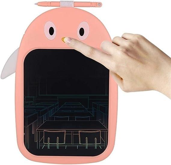 LCDライティングタブレット8インチカラフルなデジタル電子グラフィックタブレットポータブルボード手書き描画 ペン&タッチ マンガ・イラスト制作用モデル (Color : Pink)