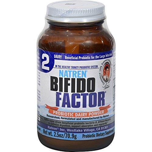 (Natren Bifido Factor - Probiotic Dairy Powder - 2.5 oz (Pack of 4))