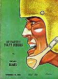 San Francisco 49ers vs Chicago Bears Football Program (November 19, 1961) ** Kezar Stadium San Francisco**