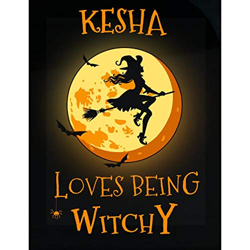 Inked Creatively Kesha Loves Being Witchy Sticker ()
