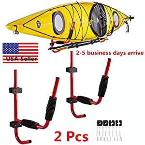 Boat Canoes Surf Board RUK Sports Padded Double Roof Rack Bar COVER for Kayaks