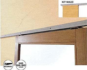 Rail dispositivo para 1 puerta corredera + Cache Presto freno Fin de Carrera: Amazon.es: Bricolaje y herramientas