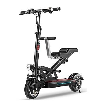 Amazon.com: Bicicleta eléctrica Qnlly de 10 pulgadas para ...