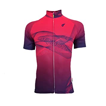 fd7b38a8e3f5f GWJ Women s Cycling Jersey Lady Short Sleeve Cycle Tops  Amazon.co ...